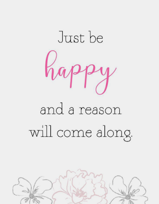 Reason to be happy