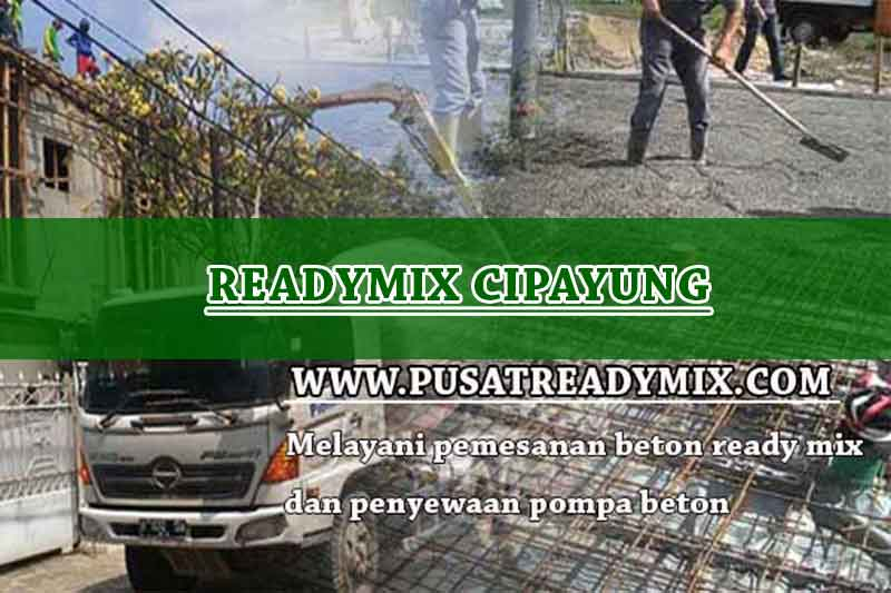 Harga Beton Ready mix Cipayung 2020