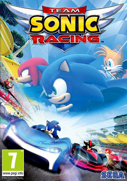 Descargar Team Sonic Racing PC Cover Caratula