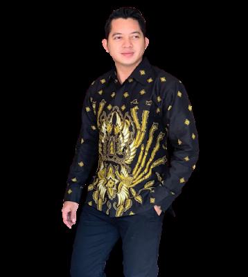 Kemeja Batik Pria Solo Lengan Panjang KBP 10