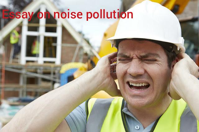 Unique essay on noise pollution