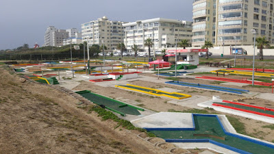 Putt-Putt course in Three Anchor Bay in Moullie Point Sea Point, Cape Town, South Africa by PJ Goedhals, 2019