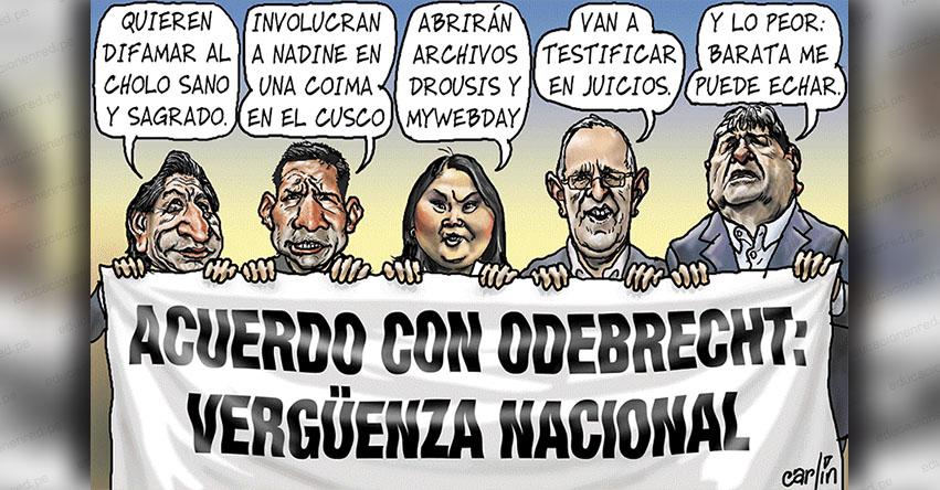 Carlincaturas Miércoles 23 Enero 2019 - La República