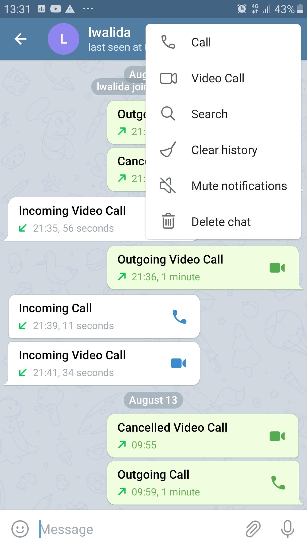 أخيرا...يمكنك تجربة المكالمات المرئية على تليجرام بإصداره التجريبي على الأندرويد