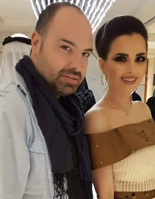 النجم ماهر الشيخ هكذا عايد مستشارة التجميل ميرنا كساب في عيد ميلادها