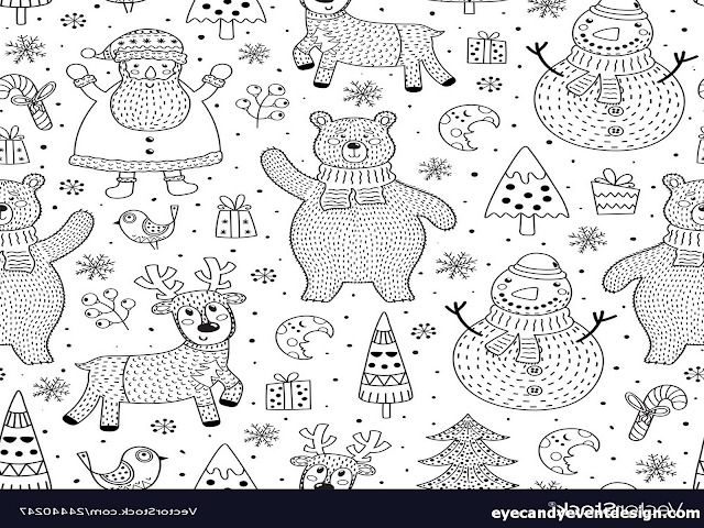 Ausmalbilder Muster