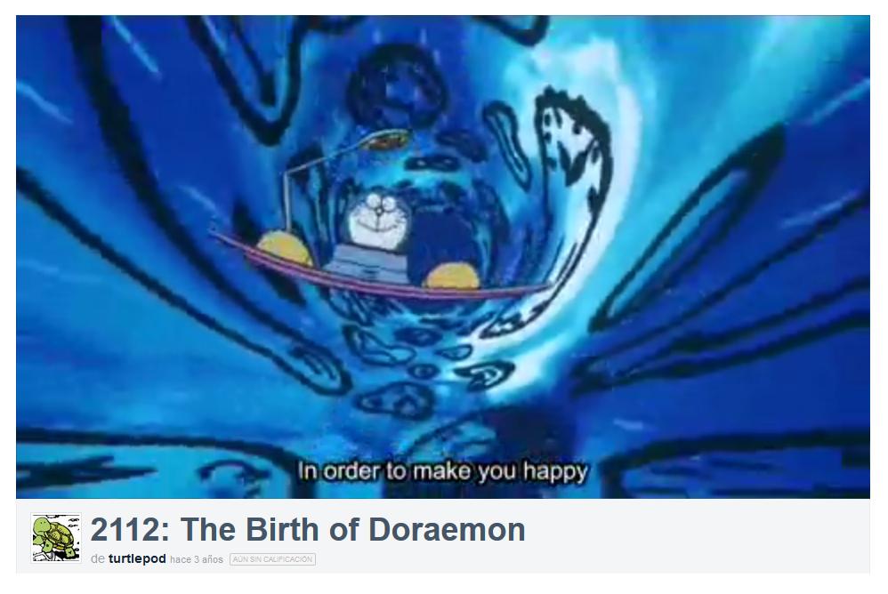 el naixement de doraemon