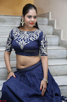 Ruchi Pandey in Blue Embrodiery Choli ghagra at Idem Deyyam music launch ~ Celebrities Exclusive Galleries 047.JPG