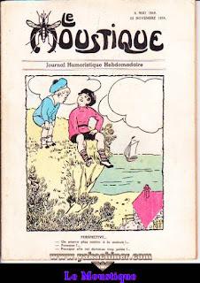 Le Moustique, Journal Humoristique Hebdomadaire, le faux Moustique