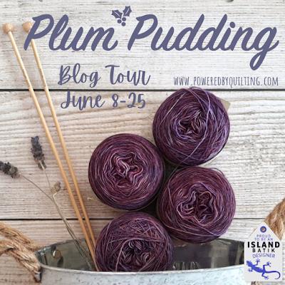 Plum Pudding fabric blog tour June 2021