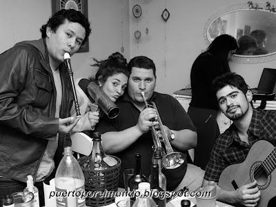 Julio 2013: juntada de tribu en Mendoza, Argentina.