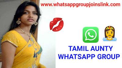 500+ Tamil Aunty Whatsapp Group Links