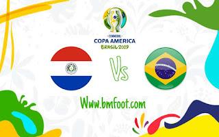 بث مباشر مباراة البرازيل ضد باراجواي مباشرة في ربع نهائي كوبا امريكا 2019