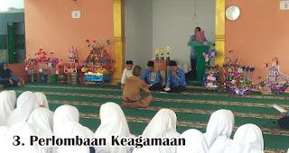 Perlombaan Keagamaan merupakan salah satu kegiatan yang rutin dilakukan untuk memperingati maulid nabi