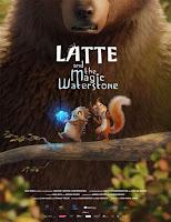 pelicula Latte y la piedra de agua mágica (2019)