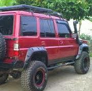 Cara Meninggikan Mobil Jenis Jeep