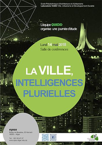 Journée d'étude - La Ville, Intelligences Plurielles