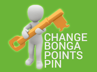 change bonga points pin
