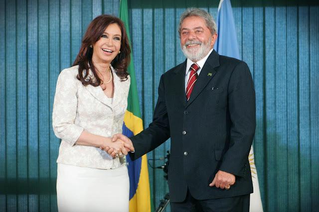 Cristina Kirchner e Lula