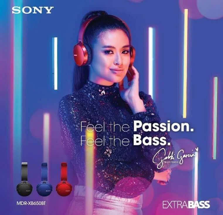 Songs That Sony EXTRA Bass Ambassador Gabbi Garcia Listens To
