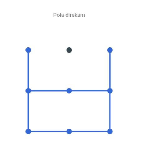 Pola Kotak Simple