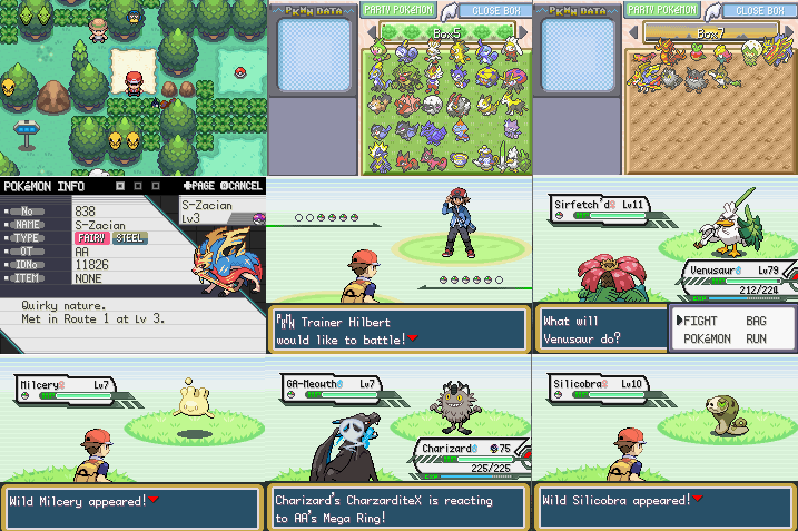 Pokemon Legend's Red GBA ROM Hack Download