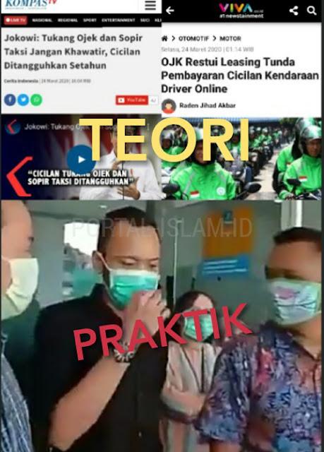 Ricuh Adu Mulut Nasabah Vs Leasing Tentang Janji Jokowi Longgarkan Utang Selama 1 tahun
