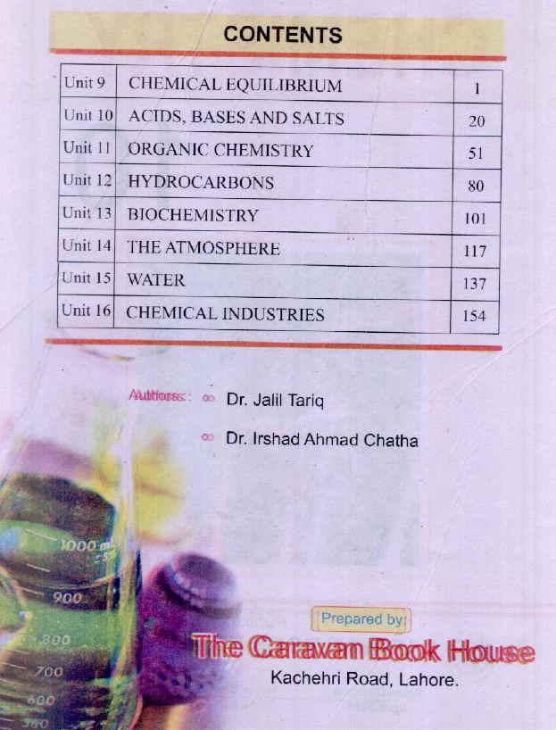 chemistry book for class 10 punjab board pdf