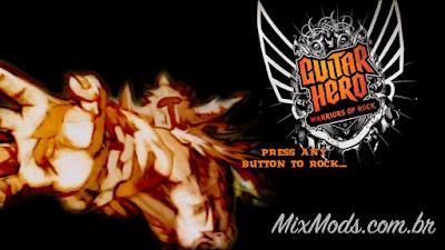 gh3 guitar hero III mod warriors of rock WOR interface zones
