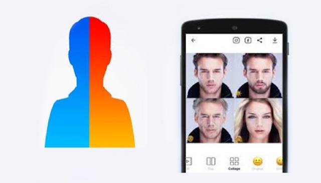 رابط تطبيق يكبر العمر يخليك شايب face app
