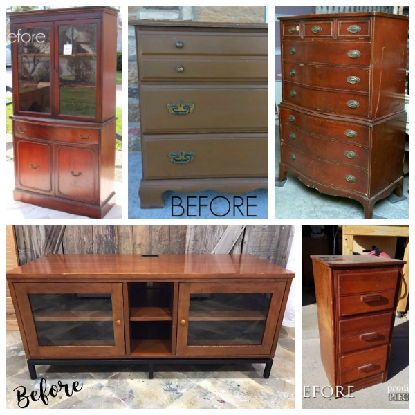 Furniture Fixer Uppers Before: March Blog Series