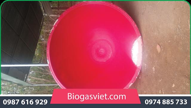 hầm bể biogas chất liệu nhựa composite