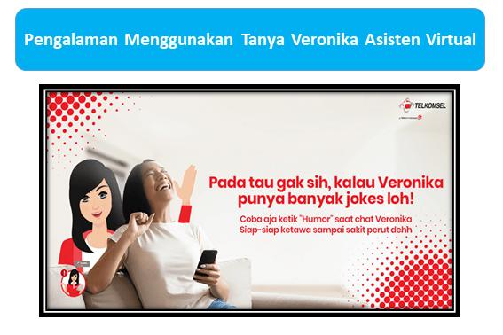 Pengalaman Menggunakan Tanya Veronika Asisten Virtual