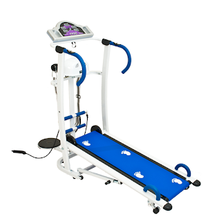Treadmill Manual 6 Fungsi Lengkap Harga Murah