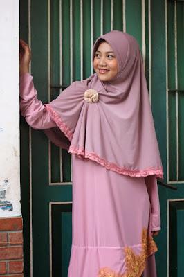 gaya hijab Cewek IGO Efrida Yanti 80an blue hijab Cewek IGO Efrida Yanti 88