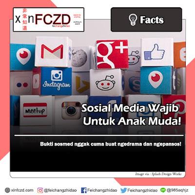 Sosial Media Wajib Untuk Anak Muda! Berguna Banget Lho!