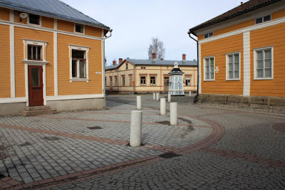 Hauenguano Square in the Old town of Rauma