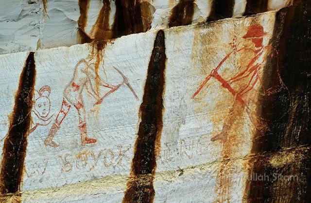 Gambar-gambar yang ada di Tebing Breksi