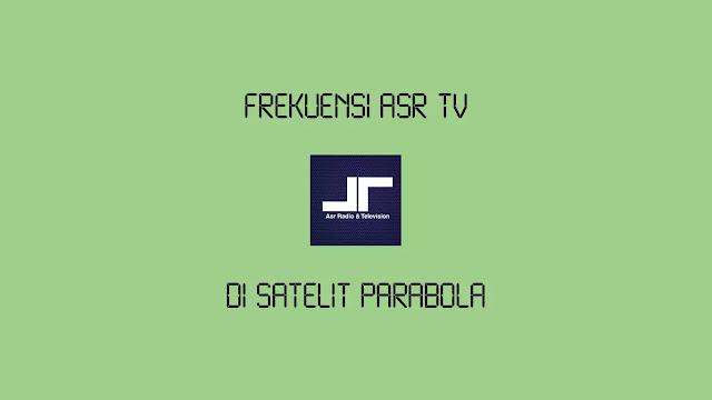 Frekuensi ASR TV Terbaru di satelit MonacoSAT