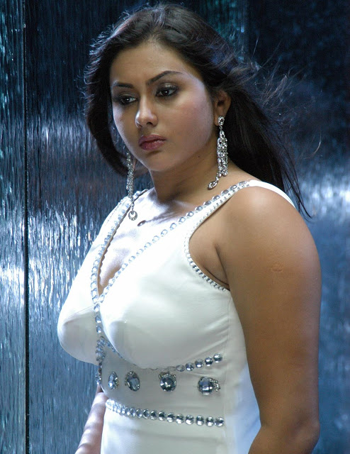 Namitha Latest Photos In White Dress Tollywood Stars