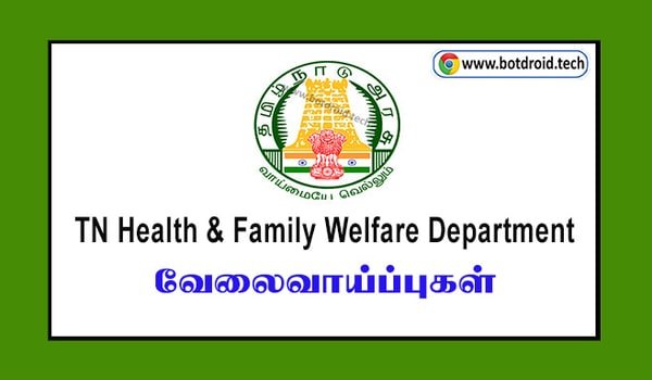 TN Health Department Recruitment 2021 - Apply For Office Assistant Posts