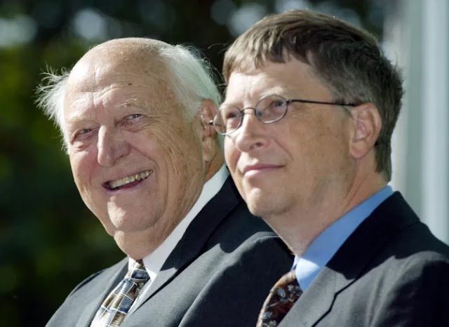 Bill Gates loses father at 98, says he will miss him everyday.