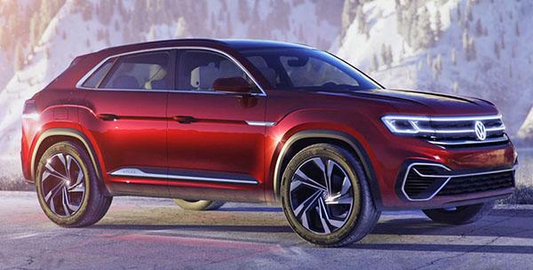 What Does Tiguan Mean >> Burlappcar: 2019 VW Tayron