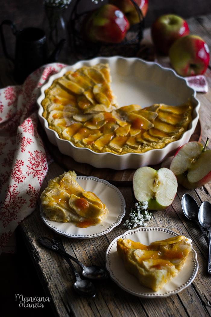 Manzanacanela Tarta De Manzana Sin Azúcar Receta Con Y