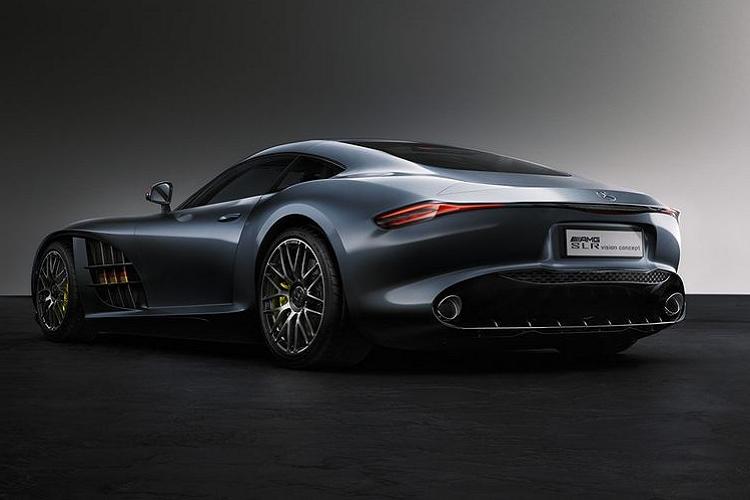 Xem trước siêu xe Mercedes SLR-AMG Concept Design mới