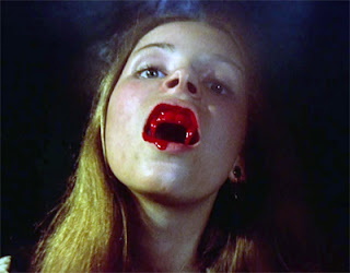 Lala Ward as a vampire acrobat in Vampire Circus (1972)