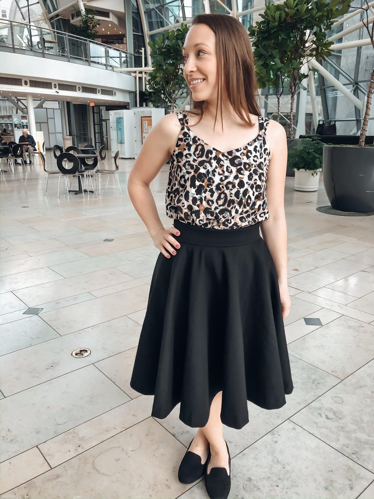 Veronika Circle Skirt