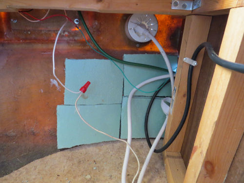 insulation on inside of fiberglass trailer