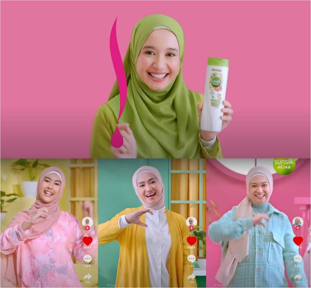 Nama Model Iklan Sunsilk Hijab Ice Tea