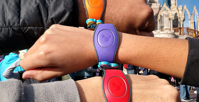 MagicBand para Walt Disney World Resort
